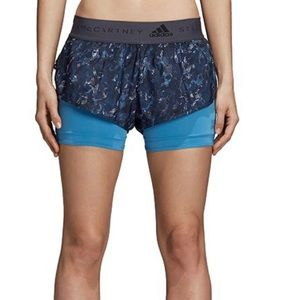 Adidas by Stella McCartney 2 in 1 Shorts